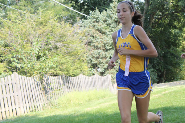 Lyons Township cross country runner Lexy Rudofski hopes she can help her team continue its history of success.