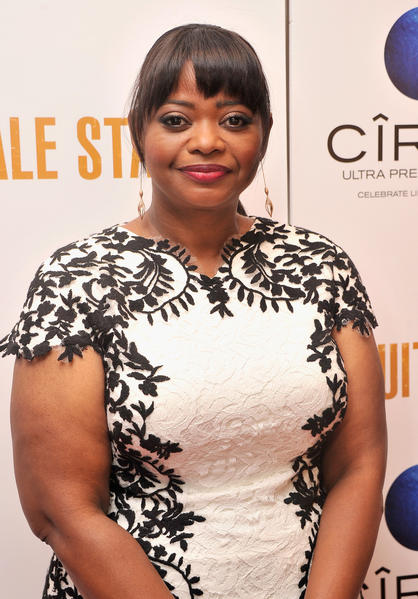"Actress Octavia Spencer attends the ""Fruitvale Station"" screening at the Museum of Modern Art July 2013."