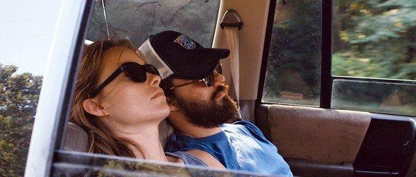 "Olivia Wilde and Jake Johnson in ""Drinking Buddies."""