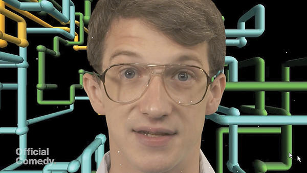 Smithsburg native Ryan Williams as Bill Gates in the Official Comedys parody movie trailer Gates: The Official Movie Trailer. The fake trailer has gone viral.