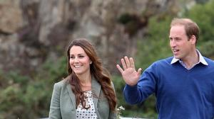Kate Middleton, Prince William kick off coastal race; George naps