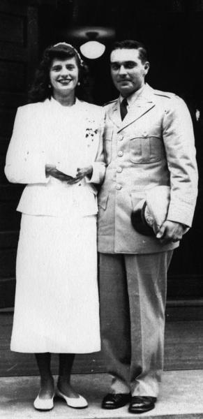 Joseph and Bette Sokol in 1953.