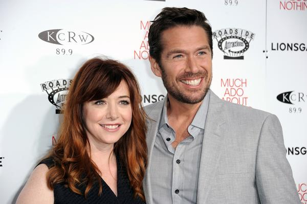 Alyson Hannigan proposal