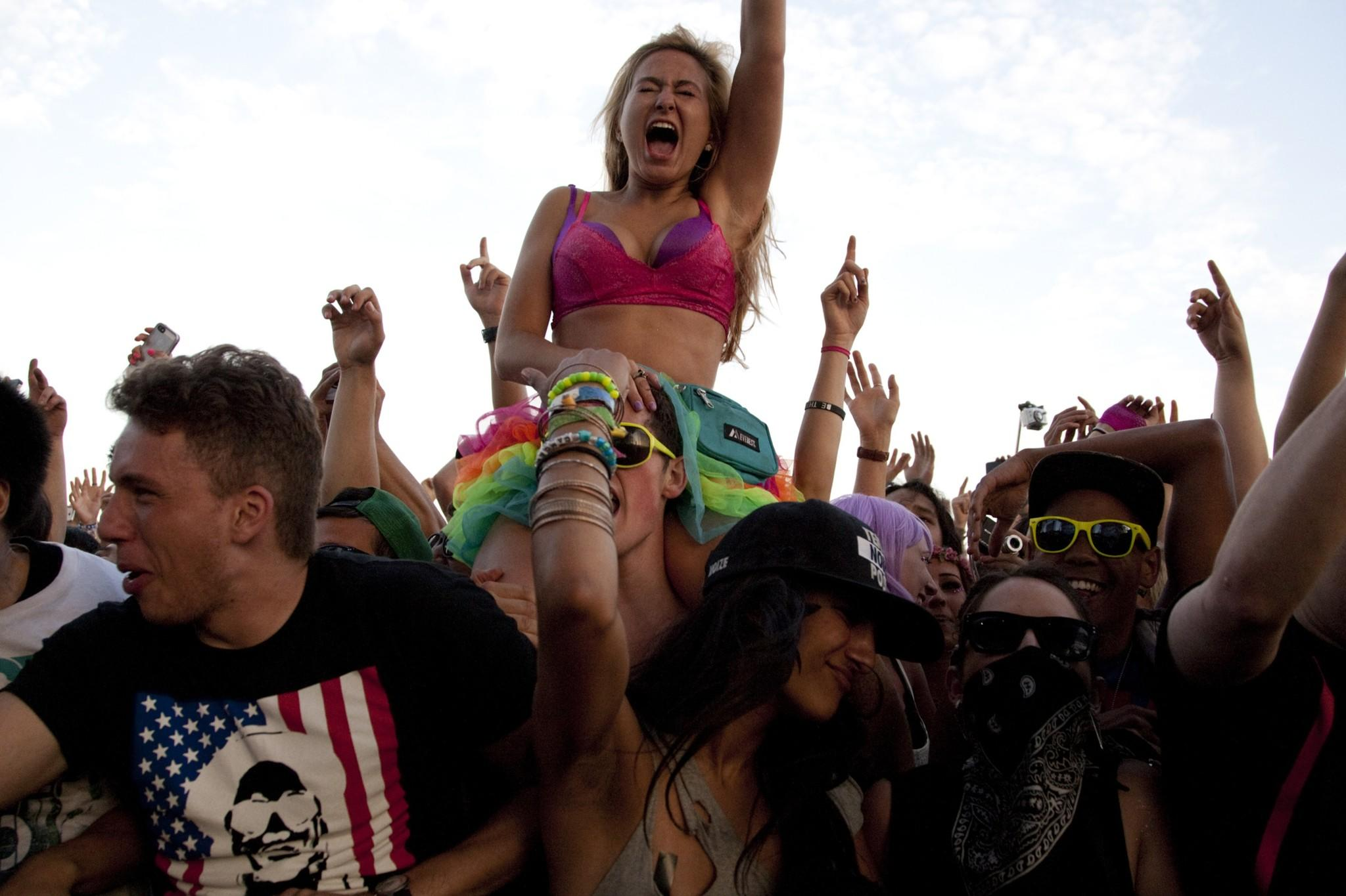 Hard Summer in 2013. (Gina Ferazzi / Los Angeles Times)