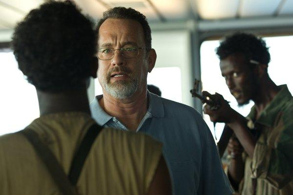 "True story: Tom Hanks stars in ""Captain Phillips,"" about the hijacking of a U.S. container ship by Somali pirates."