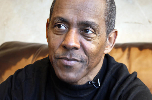 Tony Dorsett, in a photo from a video interview, discusses the NFL settlement of concussion-related lawsuits.