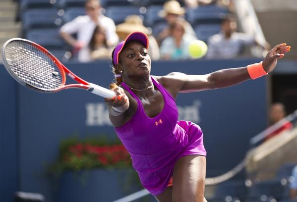 Sloane Stephens has advanced to the fourth round of the U.S. Open.