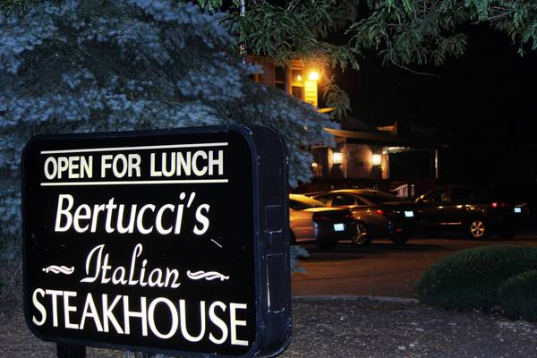Bertucci's on a recent evning.