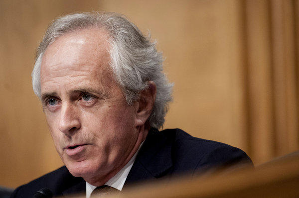 Sen. Bob Corker (R-Tenn.) was part of a group of Senate Republicans that had been trying to work out a potential compromise with the White House on the federal debt and annual deficits. That group suspended its efforts Thursday, saying it had reached an impasse.