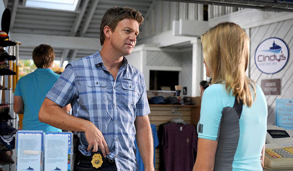 "Matt Passmore played Florida cop Jim Longworth in ""The Glades."""