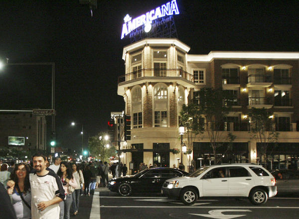 File Photo: Glendale City Council approved a zoning amendment to allow the Americana at Brand and Glendale Galleria to use high-tech displays and digital advertising signs in downtown Glendale.