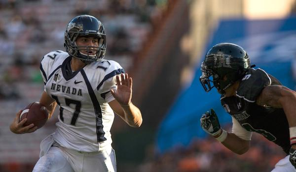 Keeping Nevada quarterback Cody Fajardo corralled will be one of UCLA's top defensive priorities Saturday.