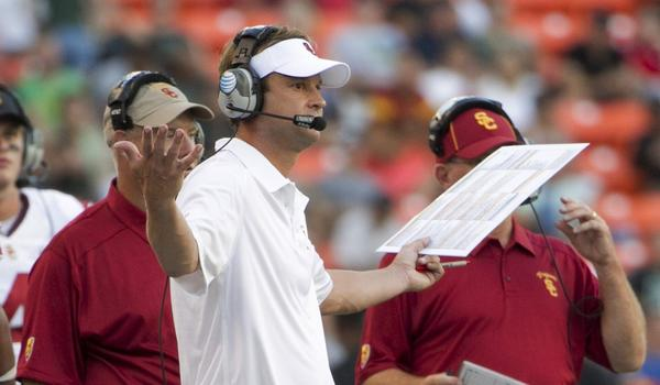 Not everyone is a fan of USC Coach Lane Kiffin.