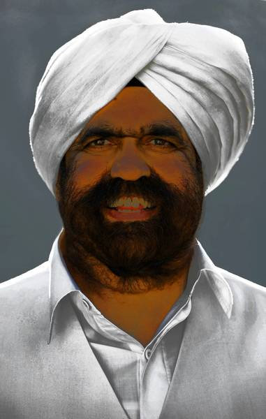 Headshot of Sant Rajinder Singh Ji Maharaj, meditation guru and spiritual head of The Science of Spirituality Meditation Center, which has its American headquarters in Naperville.