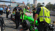 IndyCar makes adjustment to pit road to improve safety, avoid controversy