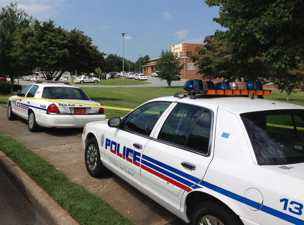 The Carver High School campus in Winston-Salem, N.C., was locked down after a shooting that left one injured, police said.