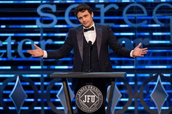 James Franco is roasted in a new special on Comedy Central.
