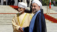Oman sultan's visit reportedly a mediation bid between Iran and U.S.