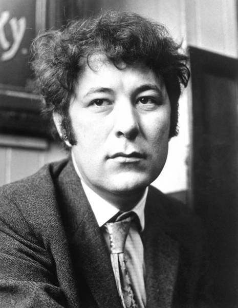 Seamus Heaney is shown in 1970. His work explored the wild beauty of Ireland and the political torment within the nation's soul.