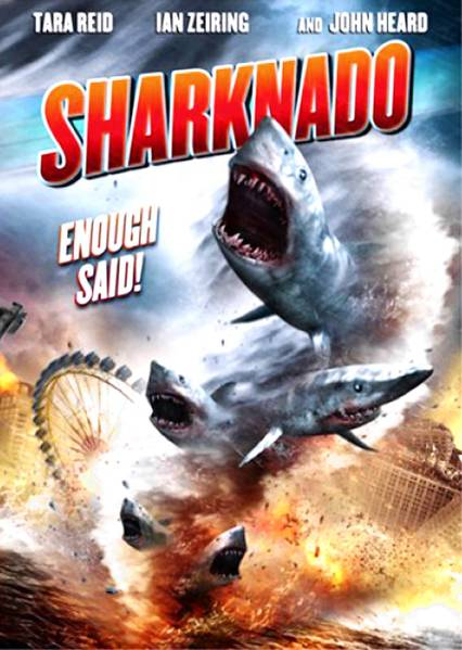 'Sharknado,' the made for television disaster film about man-eating sharks in Los Angeles, is coming out on DVD and Blu-Ray.