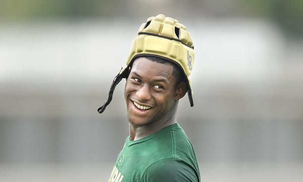 Long Beach Poly wide receiver John Smith loves being a game-changer for the Jackrabbits.