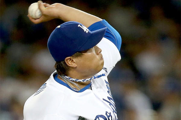 Hyun-Jin Ryu held San Diego to one run on eight hits through 6 1/3 innings while striking out three batters. Ryu also went 1-for-3 at the plate with a run batted in and a run scored in the Dodgers' 9-2 victory over the Padres.