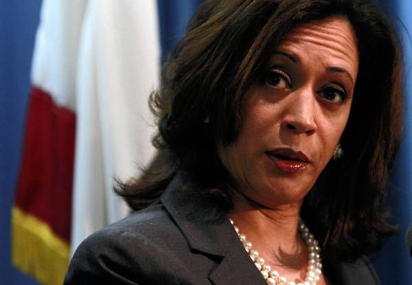 California Atty. Gen. Kamala Harris urged the Supreme Court to strike down Michigan's ban on affirmative action. Such a ruling would likely affect California's similar ban.