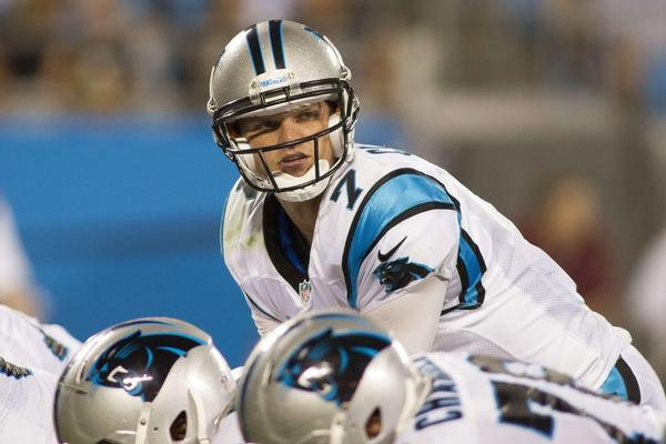 Former Notre Dame quarterback Jimmy Clausen reportedly has been dropped by the Carolina Panthers.