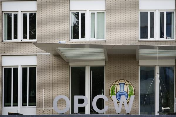 Headquarters of the Organization for the Prohibition of Chemical Weapons in the Hague.