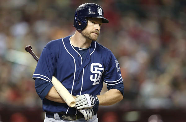 San Diego's Chase Headley is among the top young third basemen in the majors.