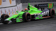 Hinchcliffe making a name for himself in the No. 27 GoDaddy car