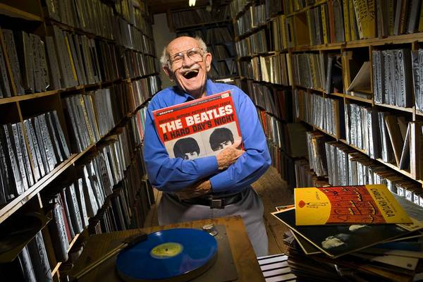 "Rare-record dealer Murray Gershenz, known as ""Music Man Murray."""