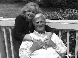 Kay Morris with her husband and former Bears player Larry Morris. (Photo courtesy of the family.)