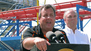 Christie touts post-Sandy recovery, but Jersey shore tourism drops