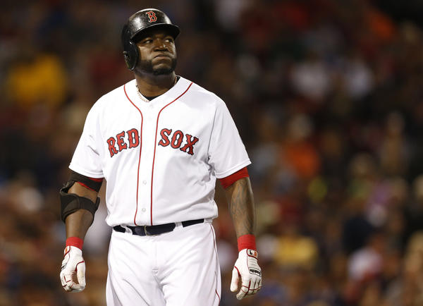 Red Sox designated hitter David Ortiz. (USA Today Sports Photo)