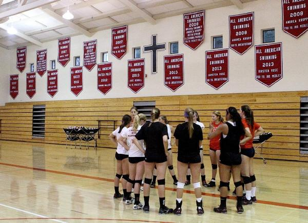 The Flintridge Sacred Heart Academy volleyball team will look to add to its banners with a Mission League championship in 2013.