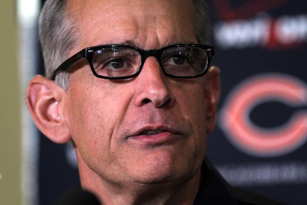 Bears general manager Phil Emery. (Phil Velasquez/Tribune Photo)