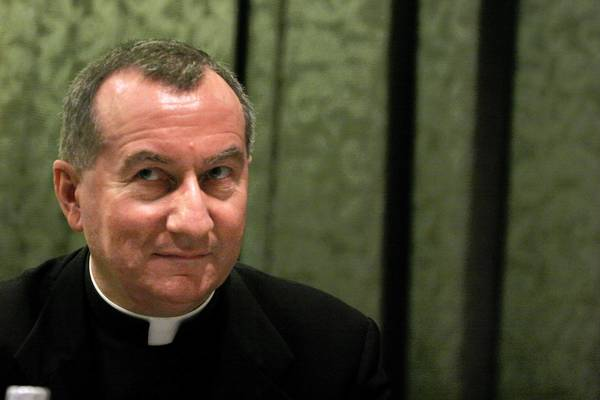 Pietro Parolin, pictured in 2007, has been named the Vatican's new secretary of state.