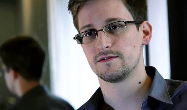 Edward Snowden in Hong Kong.