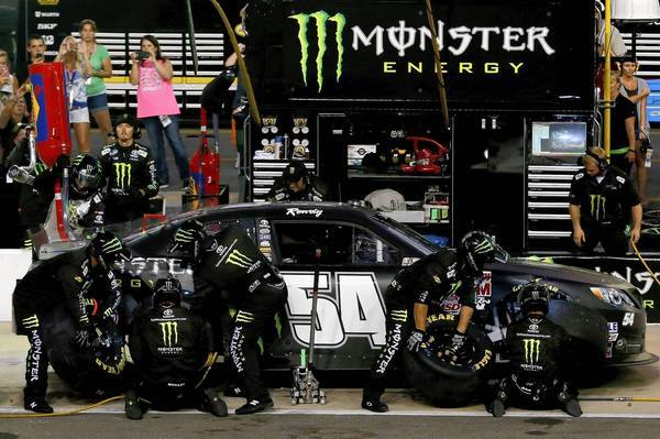 Three senators say energy drink makers such as Monster Beverage use advertising and sponsorship strategies similar to those once used by tobacco companies to attract young people.