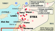 Graphic: Military forces encircle Syria
