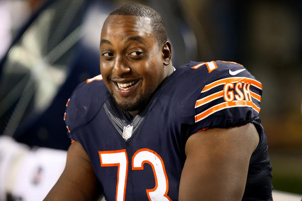 Former Bears tackle J'Marcus Webb is headed to Minnesota
