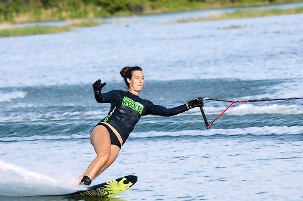 Montverde Academy graduate Taylor Woolsey, who has found success in professional water-skiing.