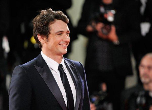 James Franco, seen here at the Venice Film Festival on Saturday night, will be feted Friday at the 17th Playhouse West Film Festival in North Hollywood.