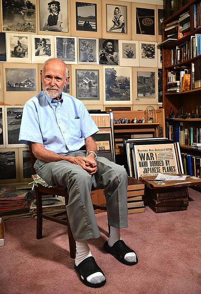 Bill Butt's collection of thousands of pieces of military items is to be sold at auction next spring.