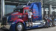 Robots in plain sight on 'Transformers' set