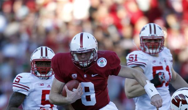 Stanford quarterback Kevin Hogan and the Cardinal look to get their national title hopes off to a strong start with a win over San Jose State on Saturday.