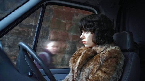 "Scarlett Johansson has an alien viewpoint in ""Under the Skin."""