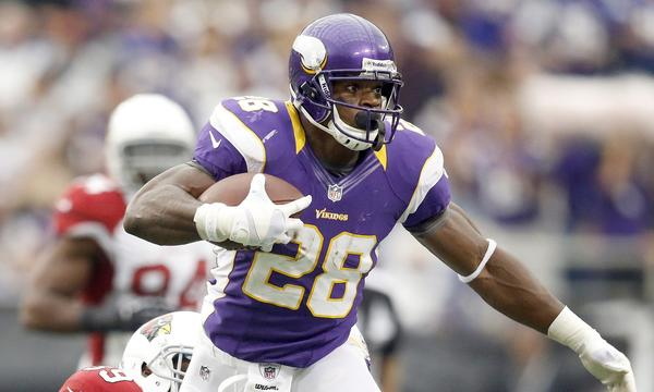 Minnesota Vikings running back Adrian Peterson nearly broke Eric Dickerson's single-season rushing record in 2012. Could he break the mark in 2013?