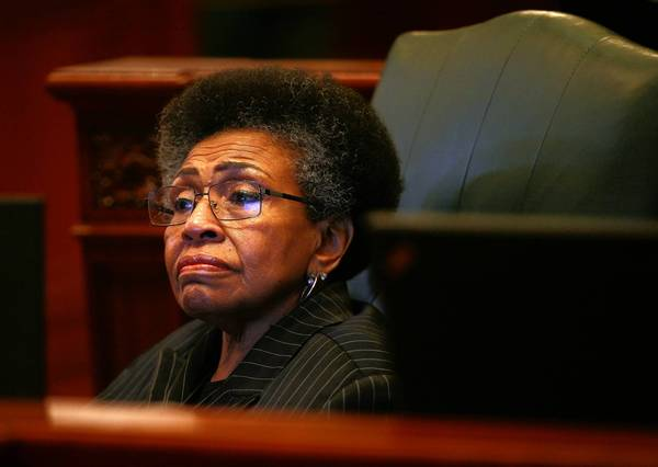Working a loophole in state law, State Rep. Connie Howard could collect $4,750 a month in pension payments until her Nov. 21 sentencing on a corruption charge.